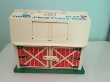Vintage Fisher Price Family Farm 1967 - Barn Only