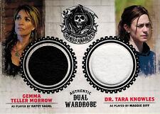 Sons of Anarchy Seasons 1 to 3 DM2 Wardrobe Costume Card Gemma & Tara
