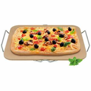 New Avanti Rectangular Pizza Baking Stone - 30 X 38cm