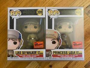 Funko POP! Star Wars Luke & Leia Jedi Training OFFICIAL NYCC 2020 STICKER