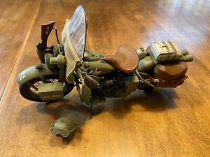 Franklin Mint 1942 Harley Davidson WLA Military Motorcycle