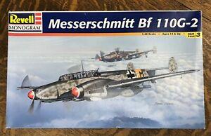 Revell Monogram 1/48 Model Kit Messerschmitt Bf110G-2 #85-5839
