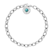 Genuine Thomas Sabo Charm Club Turquoise Limited Edition Bracelet 20cm CX0229