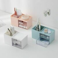 Sundries Storage Box Makeup Cosmetics Jewelry Drawers Organizer Container Case