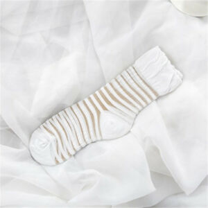 2 Pairs Women Transparent Ankle Socks Ultrathin Silk Sheer Breathable One Size
