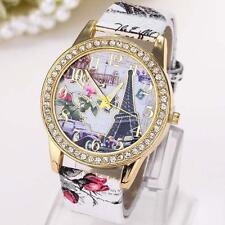GENEVA Women Multi-Layer Bracelet Watch Analog Leather Chain Wrist Watches