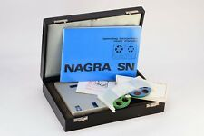 Vintage Nagra SN Kudeiski Miniature Reel-To-Reel Tape Recorder , Swiss ( MINT )