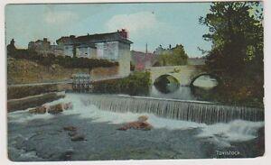 Devon postcard - Tavistock Weir (A1412)