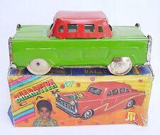 Bharatiya India USA 1950 Style SEDAN CAR 15cm Bollywood Tin Toy #707 MIB`60 RARE