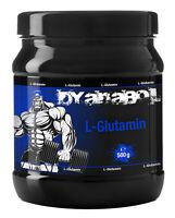 Dyanabol L-Glutamin 500g Pulver Hochdosiert Premium Aminosäure Muskelaufbau