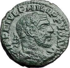 PHILIP I the ARAB -- Viminacium BULL LION Legions Sestertius Roman Coin i57890
