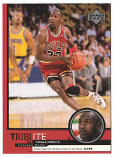 Michael Jordan 1999 Upper Deck Tribute Tops the 30 point mark Basketball Card