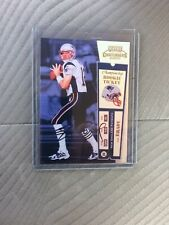 🔥2000 Playoff Contenders 🔥TOM BRADY🔥 Rookie Facsimile Auto RP#12/100 🔥