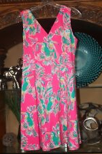 Lilly Pulitzer Dahlia Dress Toucan Can Dragonfruit Womens size Small NWOT