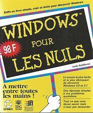 Windows pour les nuls.Andy RATHBONE.  Z004