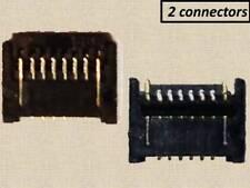 (2x) NEW home flex cable FPC ZIF connectors for iPad 3 / iPad 4 logic board
