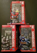 Transformers R.E.D. Lot (3) (Soundwave, Optimus Prime, & Megatron)