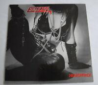 RESTLESS – Heartattack LP Original pressing 1984 Scratch Records/golden Label