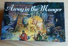 Vintage Matchbox Melodies Christmas Music Box Away in the Manger Animated