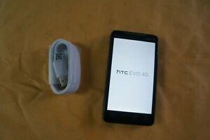 HTC EVO 4G PC36100 - 8GB - Black (Sprint)  FREE BUNDLE & SHIPPING