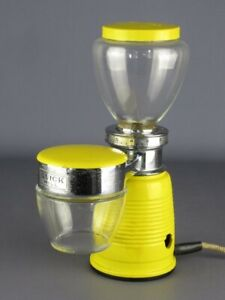 Quick Mill Vintage Grinder Coffee' Colour Yellow Modern Antiques Design 1960