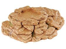 Reptile mangeoire vivarium Rock Ornement Rocky Gamelle Décoration