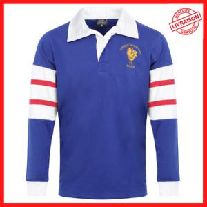 Maillot XV de France rugby vintage France/Afrique du Sud 1995 RWC1995