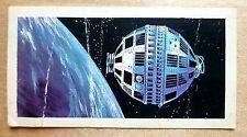 Brooke Bond RACE INTO SPACE card 11. Telstar 1 communications satellite.
