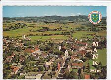 Alpine Luftbild Ak MANK, Bezirk MELK an der Donau, Mostviertel, Luftaufnahme