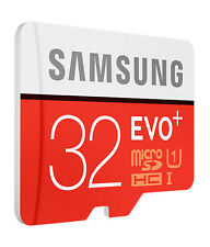 Samsung 32GB EVO Plus Micro SD SDHC UHS-I Class 10 Memory Card- Upto 80MB/S NEW*