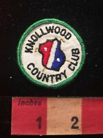 Vtg KNOLLWOOD COUNTRY CLUB California Golf Patch 81D7