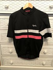 Rapha Men's Brevet Lightweight Medium Jersey Black/Pink/White