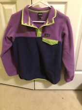 Patagonia Girls' Lightweight Synchilla® Snap-T® Fleece Pullover Size XL