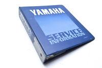 OEM Yamaha LIT-10501-01-80 Service Information Blue Binder