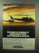 1987 U.S. Army Reserve Ad - Wind Up Wishing More