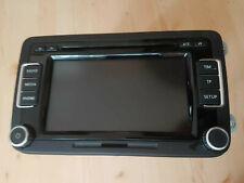 VW PASSAT B6  TOURAN CADDY RCD 510 TOUCH SCREEN RADIO MP3 6 CD SD 3C8035195F