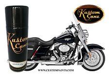 HARLEY DAVIDSON VIVID BLACK 400ml AEROSOL CAN Custom Paint, Motorcycle,