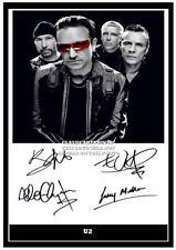 280. U2 BONO  SIGNED   PHOTOGRAPH