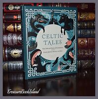 Celtic Fairy Tales Ireland Scotland Brittany Wales New Deluxe Hardcover Gift
