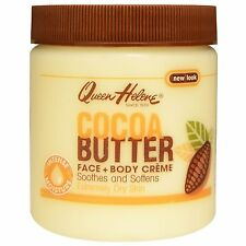 Queen Helene Cocoa Butter Face + Body Creme For Extremely Dry Skin 136g /4.8 Oz