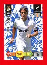 CHAMPIONS LEAGUE 2010-11 Panini 2011 - BASIC Card - LEON - REAL MADRID