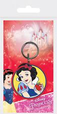 Disney Princess Snow White 7 Dwarfs rubber keychain Hair King kids Girls Bag Bel
