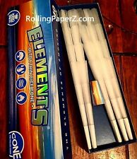 ONE PACK/40 COUNT King Size ELEMENTS PREROLLED RICE PAPER CONES rolling paper