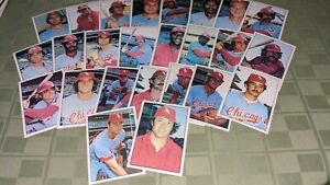 Chicago White Sox 1975 SSPC Baseball Card Team Set of 25