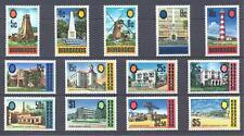 Barbados 1972, SG # 455/467, SC # 331A/343A, MNH/OG