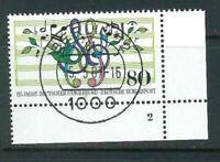 Mi-Nr. 1319 zentrisch Berlin Vollstempel - Bogenecke / Ecke 4 FN - Formnummer 2