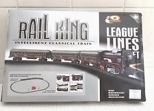 New Rail king Train Set Classic Oval Train Track Great Childrens Gift
