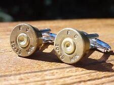 Winchester .30-30 Caliber Cufflinks -- Ammo Ammunition Brass Bullet