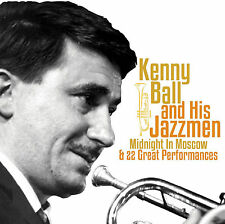 Kenny Ball And His Jazzmen - Midnight in Moscow - CD - BRAND NEW SEALED 23 HITS