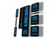 Rock Shox REBA 2015-2017 Fork Decal Mountain Bike Cycling Sticker Adhesive Blue